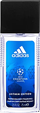 Düfte, Parfümerie und Kosmetik Parfümierter Körpernebel - Adidas Anthem Edition UEFA Body