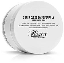 Düfte, Parfümerie und Kosmetik Feuchtigkeitsspendende Rasiercreme für Männer - Baxter of California Super Close Shave Formula