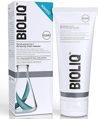 3in1 Reinigungsgel für Gesicht, Körper und Haare - Bioliq Clean Cleansing Gel For Face Body And Hair