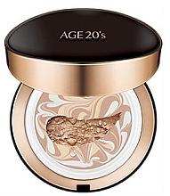 Düfte, Parfümerie und Kosmetik Cremiger Gesichtspuder Intense Cover mit austauschbarer Patrone SPF50+ - AGE 20's Signature Pact Intense Cover SPF50+/PA+++