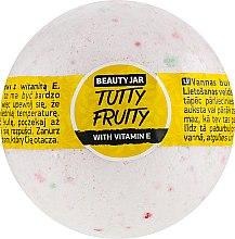 Düfte, Parfümerie und Kosmetik Badebombe mit Vitamin E - Beauty Jar Tutty Fruity