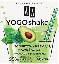 Düfte, Parfümerie und Kosmetik Feuchtigkeitsspendende Gesichtscreme Avocado und Präbiotikum - AA Yogo Shake