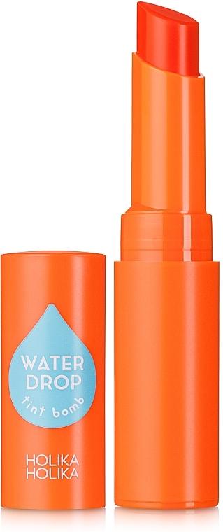 Feuchtigkeitsspendender Lippenstift - Holika Holika Water Drop Tint Bomb