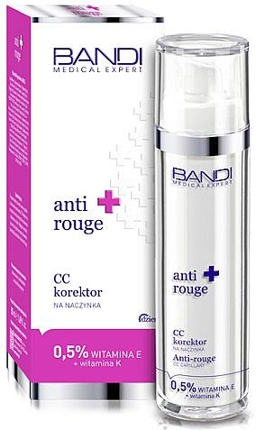 CC Creme gegen Couperosehaut mit Vitaminen E und K - Bandi Medical Expert Anti Rouge CC Capillary Corrector