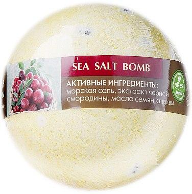 Meersalz Badebombe mit schwarzen Johannisbeeren- und Moosbeerenduft - ECO Laboratorie Sea Salt Bomb