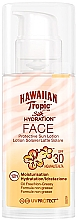 Düfte, Parfümerie und Kosmetik Feuchtigkeitsspendende Sonnenschutzlotion für das Gesicht SPF 30 - Hawaiian Tropic Silk Hydration Face With SPF 30