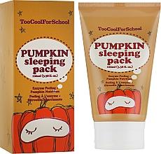 Düfte, Parfümerie und Kosmetik Nachtmaske mit Kürbisextrakt - Too Cool For School Pumpkin Sleeping Pack
