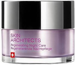 Düfte, Parfümerie und Kosmetik Regenerierende Nachtpflege für das Gesicht - Artemis of Switzerland Skin Architects Regenerating Night Care