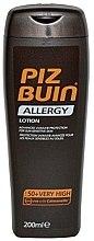 Düfte, Parfümerie und Kosmetik Sonnenschützende Körperlotion für empfindliche Haut SPF 50+ - Piz Buin Allergy Sun Sensitive Skin Lotion SPF50