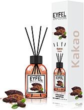 Düfte, Parfümerie und Kosmetik Raumerfrischer Cocoa - Eyfel Perfume Reed Diffuser Cocoa