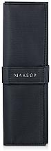 Düfte, Parfümerie und Kosmetik Make-up Etui für 7 Pinsel Basic schwarz - Makeup