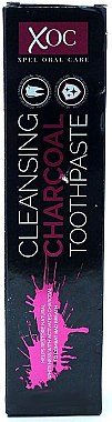 Zahnpasta mit Aktivkohle - Xpel Marketing Ltd Oral Care XOC Cleansing Charcoal Toothpaste