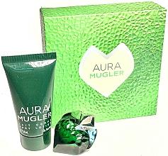 Düfte, Parfümerie und Kosmetik Thierry Mugler Aura Mugler - Duftset (Eau de Parfum 5ml + Körperlotion 30ml)