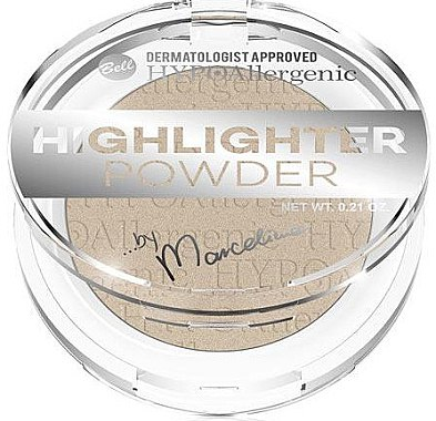 Highlighter Puder - Bell HYPOAllergenic Highlighter Powder by Marcelina