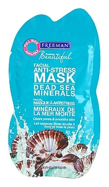 Anti-Stress Gesichtsmaske mit Mineralien aus dem Toten Meer - Freeman Feeling Beautiful Dead Sea Minerals Anti-Stress Mask (Mini)