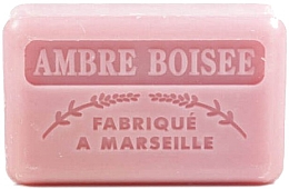 Düfte, Parfümerie und Kosmetik Handgemachte Naturseife mit holzigem Bernsteinduft und Sheabutter - Foufour Savonnette Marseillaise Ambre Boisee