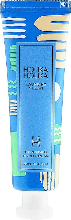 "Parfümierte Handcreme ""Laundry Clean"" - Holika Holika Laundry Clean Perfumed Hand Cream"