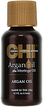 Düfte, Parfümerie und Kosmetik 2in1 Argan- und Moringaöl - CHI Argan Oil Plus Moringa Oil (Mini)