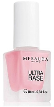 Düfte, Parfümerie und Kosmetik Stärkender Nagelunterlack - Mesauda Milano Ultra Base 104