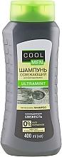 Düfte, Parfümerie und Kosmetik Erfrischendes Shampoo für fettiges Haar mit Menthol und Mandelöl - Cool Men Ultramint