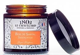 Düfte, Parfümerie und Kosmetik Duftkerze Sandelholz - Le Chatelard 1802 Sandalwood Scented Candle