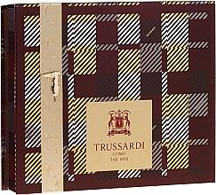 Düfte, Parfümerie und Kosmetik Trussardi Uomo The Red - Duftset (Eau de Toilette 50ml + Duschgel 100ml)