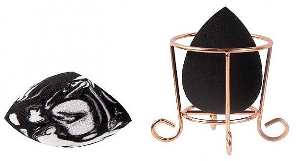 Make-up Schwamm-Set mit Korb - Donegal