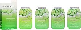Düfte, Parfümerie und Kosmetik 4-stufige Cucumber Fresh Fußpflege - Voesh Pedi In A Box Deluxe Pedicure Cucumber Fresh (1. Meer Badesalz, 2. Zuckerpeeling, 3. Schlammmaske, 4. Massagebutter)(35 g)