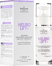 Düfte, Parfümerie und Kosmetik Lotion gegen Mimikfalten im Augen- und Mundbereich mit Neuropeptiden und Hyaluron - Farmona Professional Neuro Lift+ Mimic Wrinkle Reducer