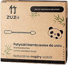 Düfte, Parfümerie und Kosmetik Wattestäbchen aus Bambus mit verschiedenen Spitzen - Zuzii Bamboo Cotton Buds