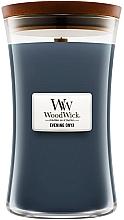 Düfte, Parfümerie und Kosmetik Duftkerze im Glas Evening Onyx - WoodWick Hourglass Candle Evening Onyx