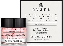 Düfte, Parfümerie und Kosmetik Zuckerpeeling für die Lippen mit Rose - Avant Velvet Perfecting Rose Sugar Lip Scrub