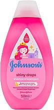 Düfte, Parfümerie und Kosmetik Kindershampoo mit Arganöl - Johnson's Baby Shiny Drops Shampoo