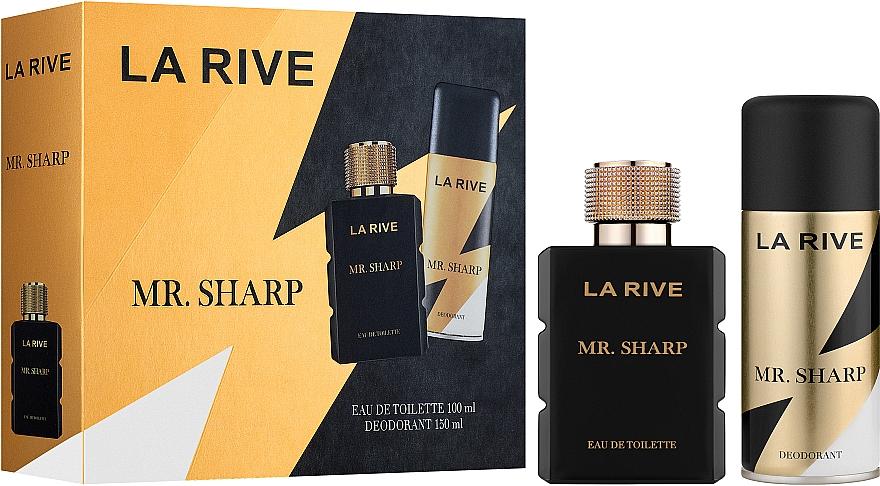 La Rive Mr. Sharp - Duftset (Eau de Toilette 100ml + Deospray 150ml)