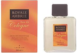 Düfte, Parfümerie und Kosmetik Legrain Royale Ambree - Eau de Cologne