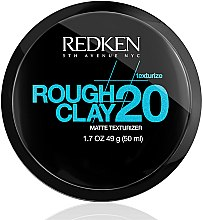Düfte, Parfümerie und Kosmetik modellierende Paste starke Fixierung - Redken Rough Clay Matte Texturizer 20