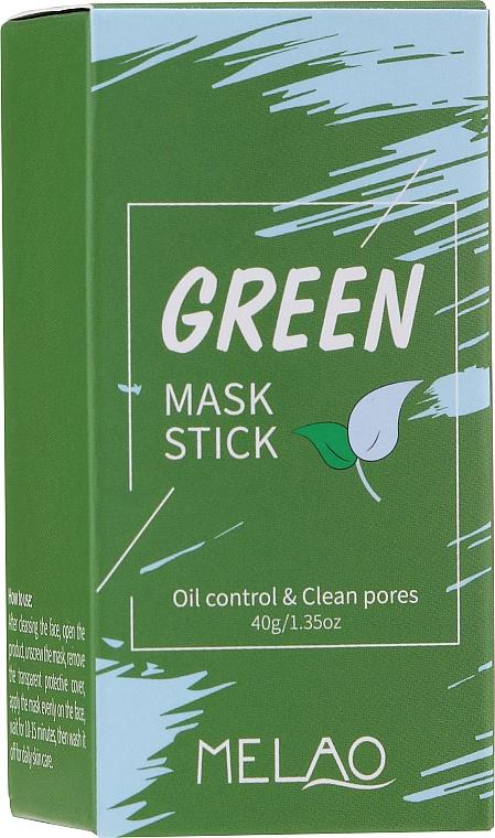 Maske-Stick mit Bio-Ton und grünem Tee - Melao Green Tea Purifying Clay Stick Mask