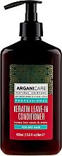 Düfte, Parfümerie und Kosmetik Glättende Haarspülung mit Keratin für trockenes Haar - Arganicare Keratin Leave-in Conditioner For Dry Hair