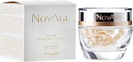 Düfte, Parfümerie und Kosmetik Regenerierende Gesichtskapseln mit nährstoffreichen natürlichen Ölen 30 St. - Oriflame NovAge Nutri6 Facial Oil Capsules