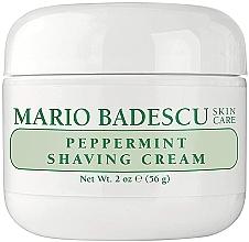 Düfte, Parfümerie und Kosmetik Rasiercreme mit Minze - Mario Badescu Peppermint Shaving Cream