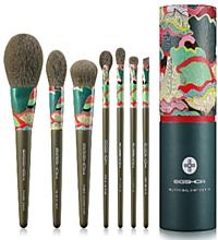 Düfte, Parfümerie und Kosmetik Make-up Pinselset 7 St. - Eigshow Essential Greener Model Fresher Brush Kit