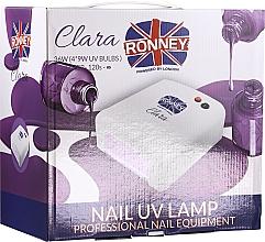 Düfte, Parfümerie und Kosmetik UV-Lampe für Nageldesign hell-lila - Ronney Profesional Clara UV 36W (GY-UV-818) Lamp