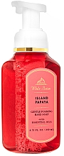 Düfte, Parfümerie und Kosmetik Schaumseife für die Hände mit Papaya - Bath and Body Works White Barn Island Papaya Gentle Foaming Hand Soap