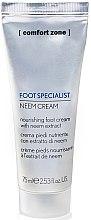 Düfte, Parfümerie und Kosmetik Tief pflegende Hand- und Fußcreme - Comfort Zone Foot Specialist Neem Cream