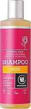 Düfte, Parfümerie und Kosmetik Feuchtigkeitsspendendes Shampoo für normales Haar mit Rosenextrakt - Urtekram Rose Shampoo Normal Hair