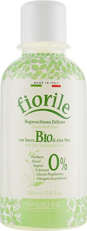 Sanfter Badeschaum mit Bio Aloe Vera - Parisienne Italia Fiorile BIO Aloe Vera Bath Foam