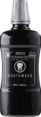 Mundwasser - Beauty Formulas Advanced Charcoal Mouthwash