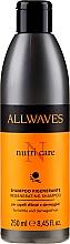 Düfte, Parfümerie und Kosmetik Stärkendes Shampoo für geschädigtes Haar mit Vitamin F - Allwaves Nutri Care Regenerating Shampoo