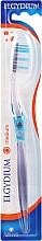 Düfte, Parfümerie und Kosmetik Zahnbürste mittel Inter-Active blau-transparent - Elgydium Inter-Active Medium Toothbrush