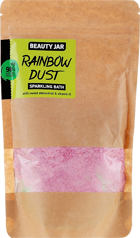 Badepuder mit Mandelöl und Vitamin E - Beauty Jar Sparkling Bath Rainbow Dust